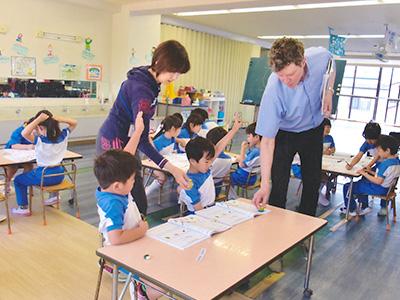 外国人教師による英語教育